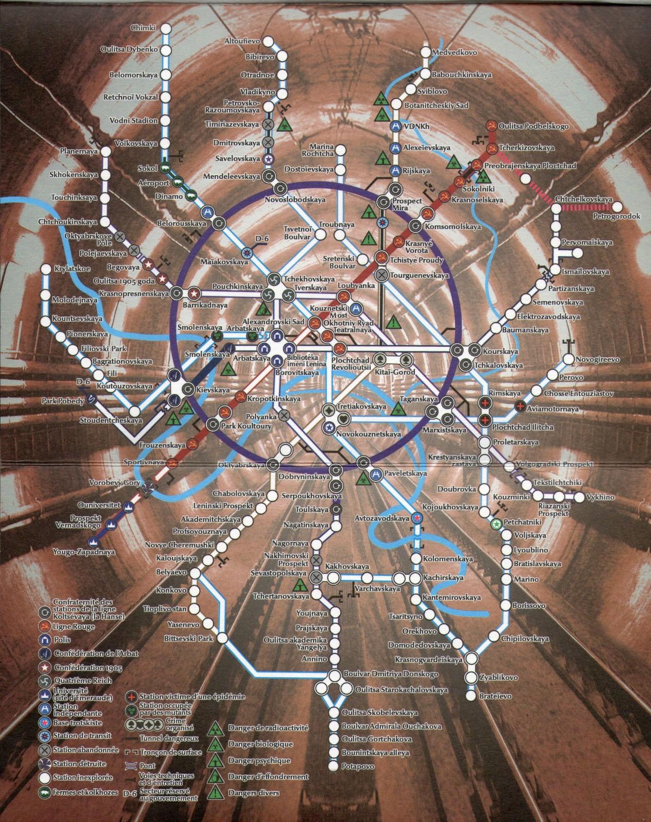 Metro (Metro 2033, 2034, 2035, Universum)   Lecture   iunctis.fr