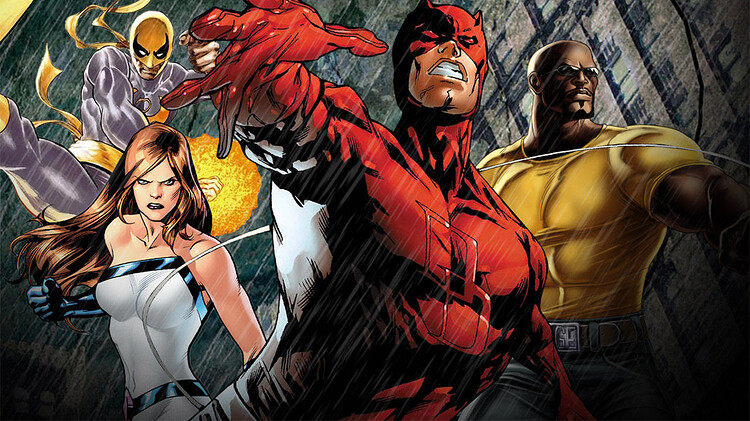 Marvel on Netflix