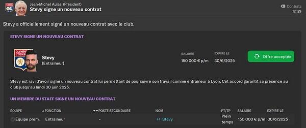 Nouveau contrat