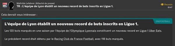 Record but en L1
