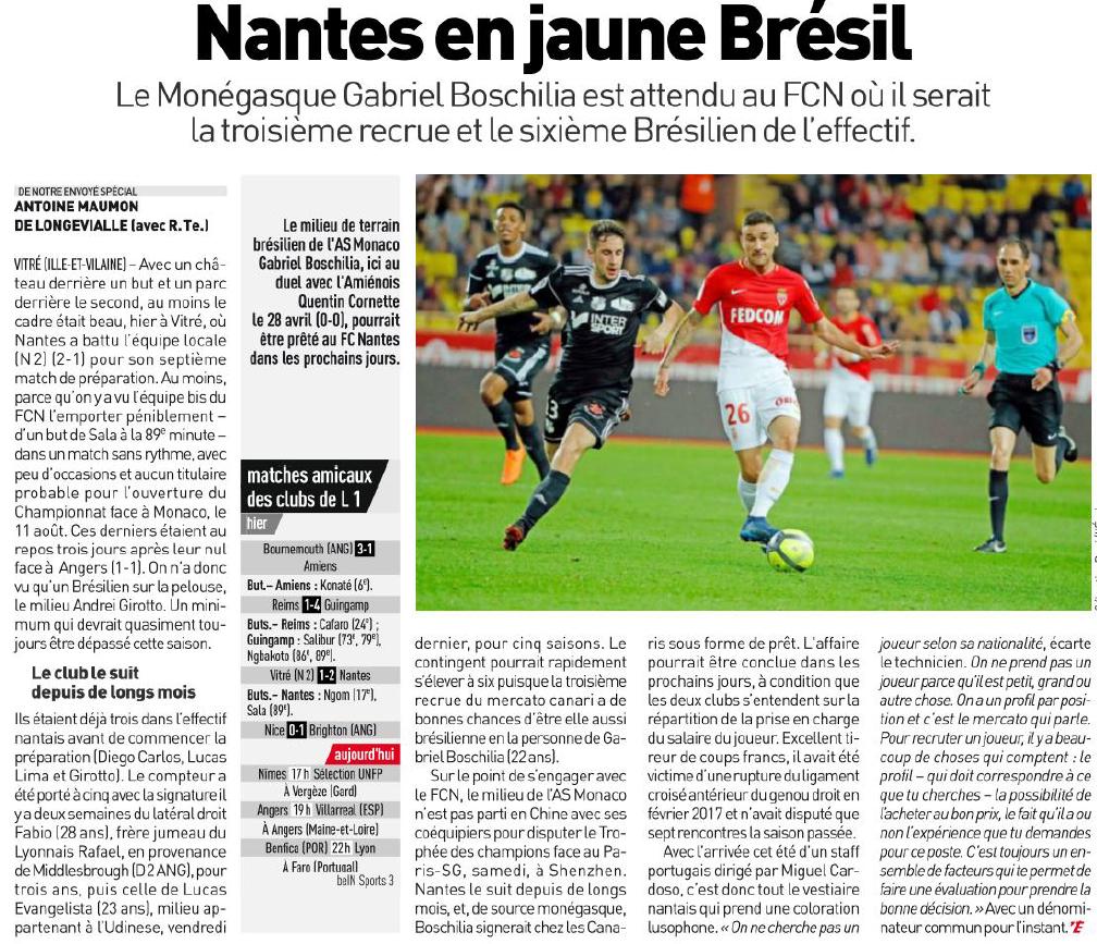 8a8323177f 🇫🇷 FC Nantes - Clubs et nations - iunctis.fr