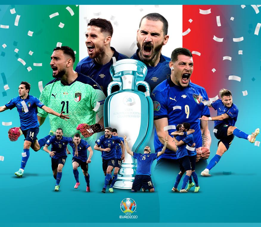 Italie vainqueur