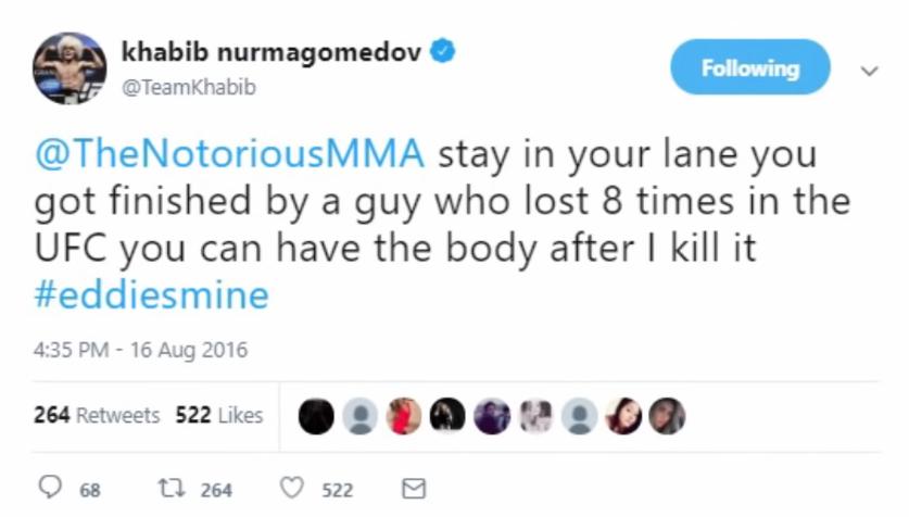 Combat MMA KHABIB-MCGREGOR qui tourne à la bagarre générale ??? 685f876048a8b1fc302c92bb223b80e8c861c1fe