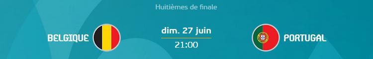 H4 - Belgique - Portugal