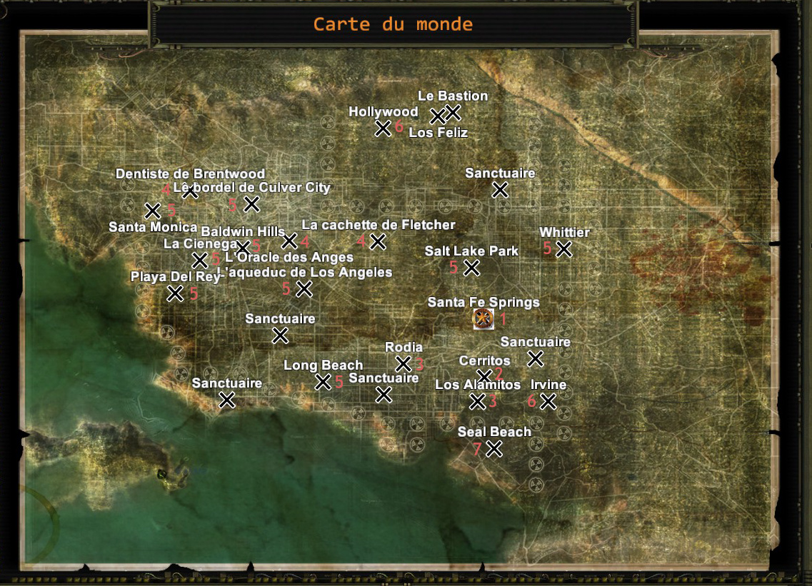 Wasteland 2 Ordre Des Missions Arizona Los Angeles Guides