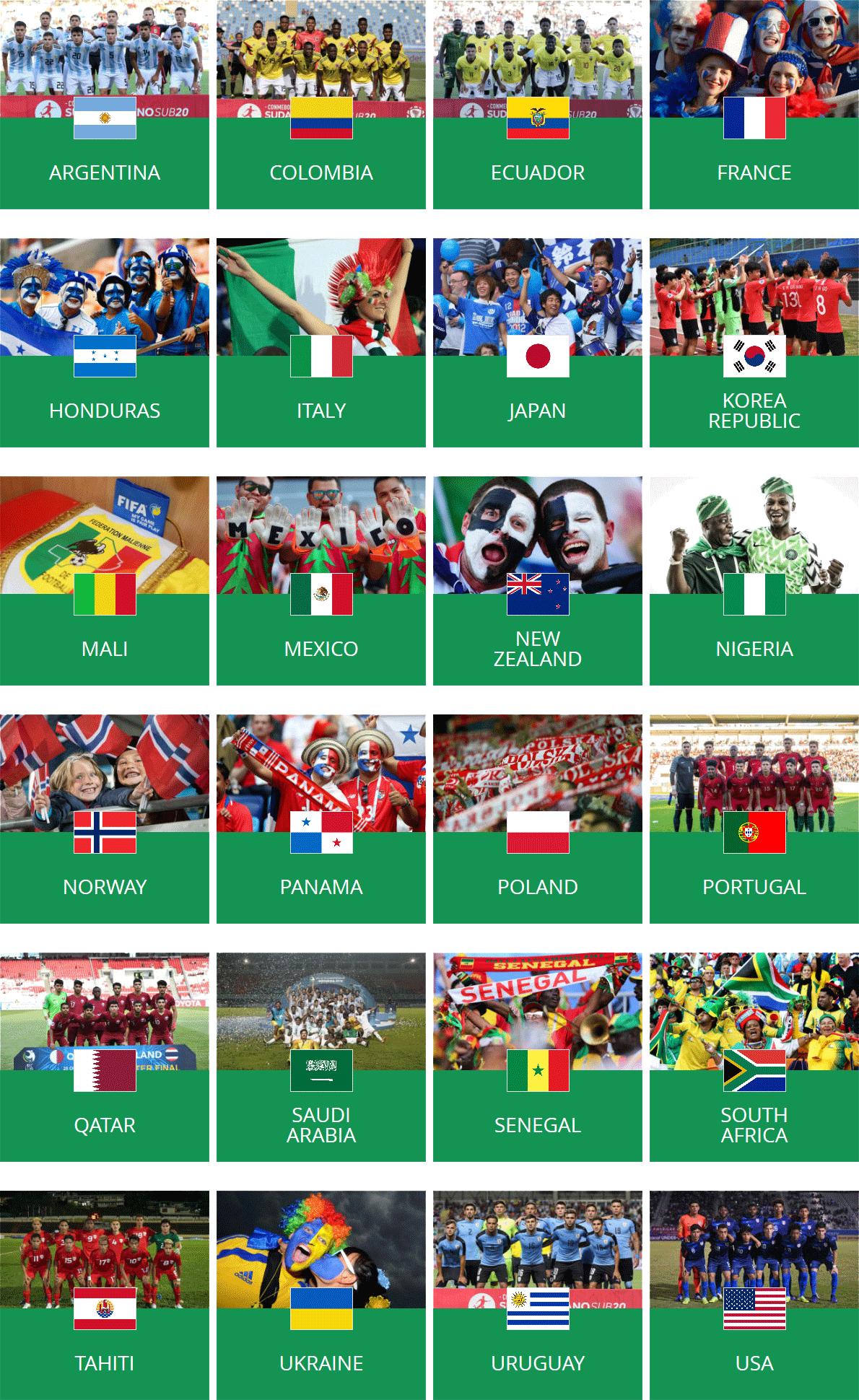 cdm-u20-2019-teams